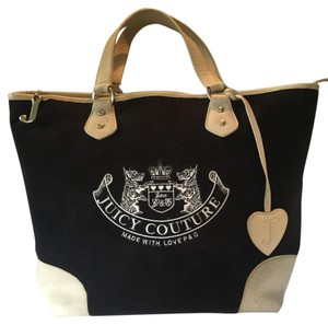Juicy Couture Tote in Chocolate Brown And Tan