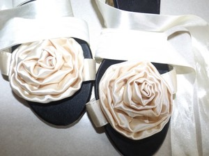 Satin - Strappy Wedding Shoes Wedding Shoes