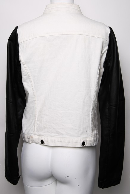 Kenneth Cole white, black Jacket
