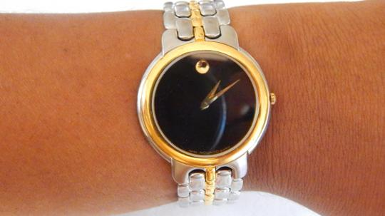 Movado Authentic Movado Stainless Steel Casing Gold Plated