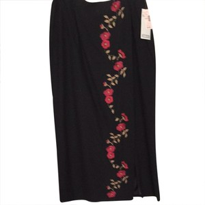 Dress Barn Maxi Skirt black