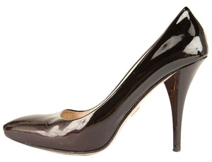 Prada Dark Maroon Pumps