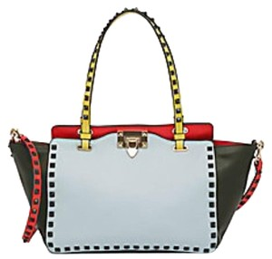 Valentino Tote in ColorBlock