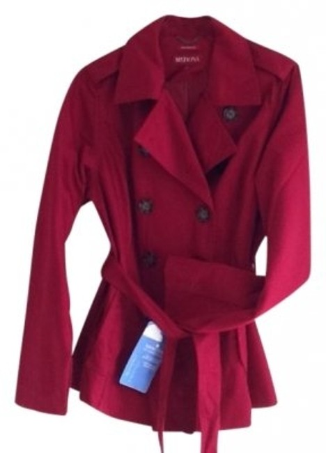 Preload https://item2.tradesy.com/images/merona-maroon-trench-style-spring-jacket-size-12-l-17771-0-0.jpg?width=400&height=650