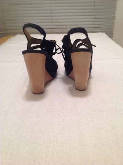 Trouvé Black Wedges