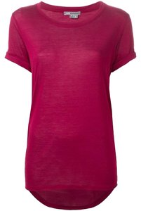 Vince T Shirt bordeaux