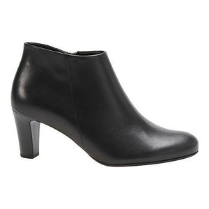 Gabor Leather Ankle Black Boots