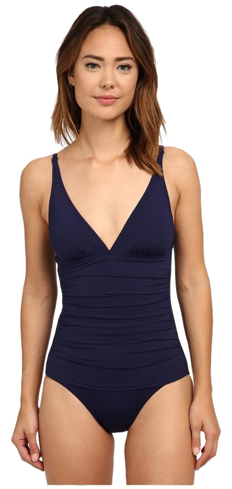 08b3ea0625 Tommy Bahama Mare Navy One-piece Bathing Suit Size 8 (M) - Tradesy