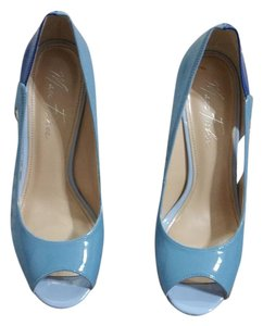 Marc Fisher Open Toe Twotone Light blue/dark blue Pumps