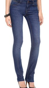 DL1961 Premium High Rise Straight Leg Jeans-Medium Wash
