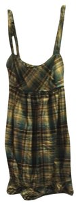 Speechless short dress Blue Plaid on Tradesy