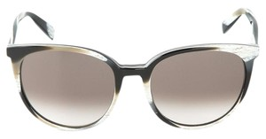 Céline NEW Celine Thin Mary CL 41068/S Multicolor Brown Oversized Round Sunglasses
