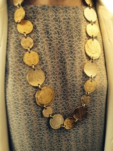 Chanel Chanel Gold Coin Necklace/ Belt