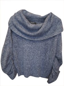 Nine West Cowl Infinity Scarf Neck Sweater