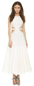 White Maxi Dress by Mara Hoffman Elizabeth And James Tory Burch Zimmermann Lela Rose Self-portrait