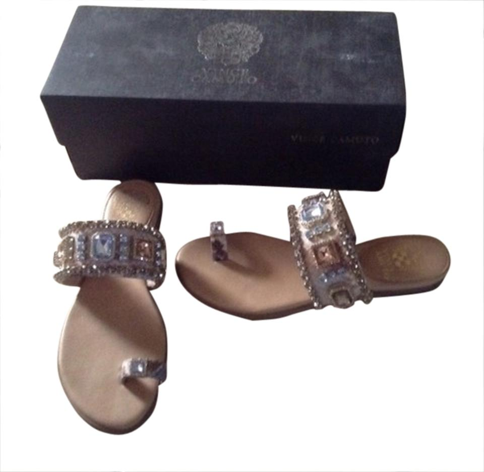 1ef0e9a71ec463 Vince Camuto Pearl Analisa Sandals Size US 6 Regular (M
