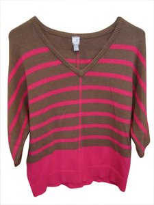Brown Stripe Sweater