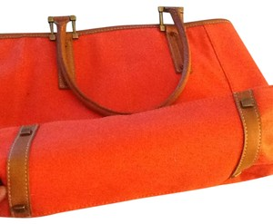 Talbots Satchel in Burnt orange