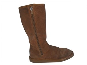 UGG Australia Side Zippers Sunshine Chestnut Boots