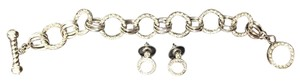 Nordstrom Diamond Bracelet and Stud Earring Set with CZs