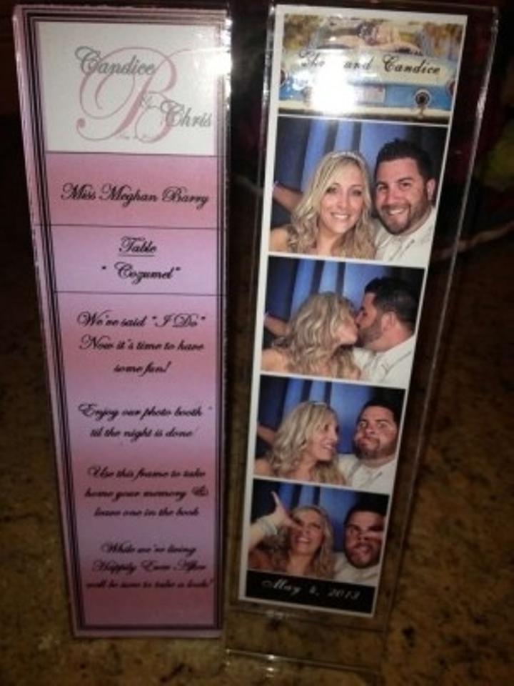 Clear L Frame Photobooth Wedding Favors Tradesy