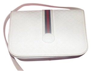 Gucci Mint Vintage Popular Style Perfect Summer Red/blue Cross Body Bag