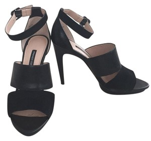French Connection Black Platforms