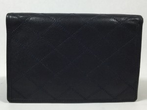 Chanel Dark Navy Quilted Leather