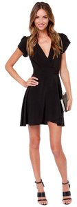 Lulu*s short dress Black on Tradesy