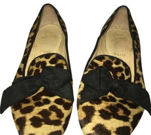 Christian Louboutin Black brown Flats