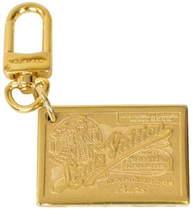 Louis Vuitton Louis Vuitton Porte Cles Jean Gold Plated Keychain Bag Charm