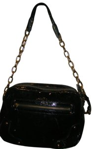 Maxx New York Patent Leather Shoulder Bag