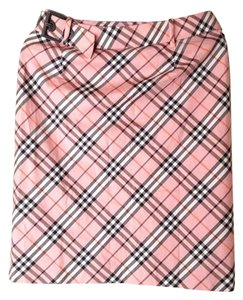 Burberry London Burberry London Blue Label Limited Pink Fitted Skirt, Size S