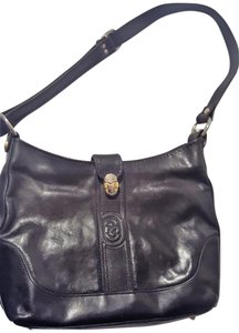 Marino Orlandi Leather Italian Vintage Classic Shoulder Bag