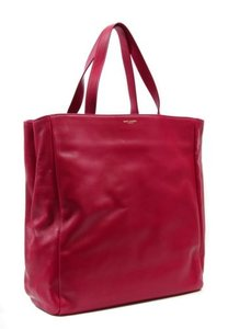 Saint Laurent Ysl 318340 Bo Reversible Shop Fuchsia Tote in Pink