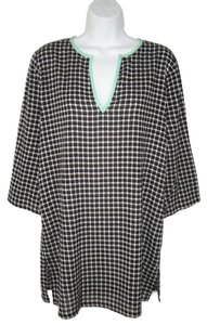 J.Crew Geometric Cotton Tunic