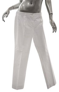 Cline Celine Clean Front Pant Straight Pants White