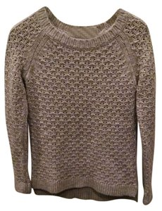 Banana Republic Italian Yarn Star Stitch Crew Sweater