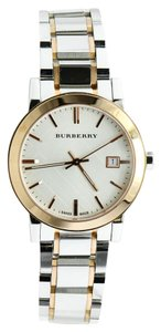 Burberry Burberry BU9006 Two Tone Stainless Steel Watch
