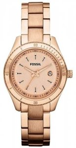 Fossil Fossil Stella Rose Gold-Tone Stainless Steel Ladies Watch