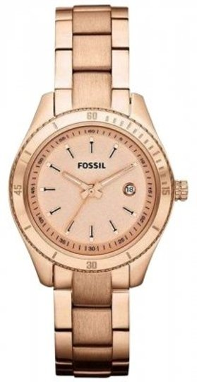Preload https://item2.tradesy.com/images/fossil-rose-gold-stella-gold-tone-stainless-steel-ladies-watch-177781-0-0.jpg?width=440&height=440