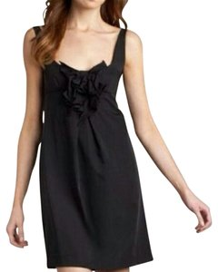 Diane von Furstenberg short dress Black Shift Sheath on Tradesy