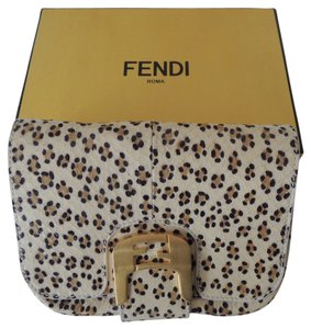 Fendi Snakeskin Evening leopard Clutch