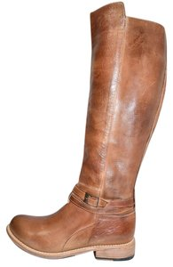 Bed|Stü Wedge TAN RUSTIC Boots