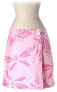 Lilly Pulitzer Print Mini Skirt Pink