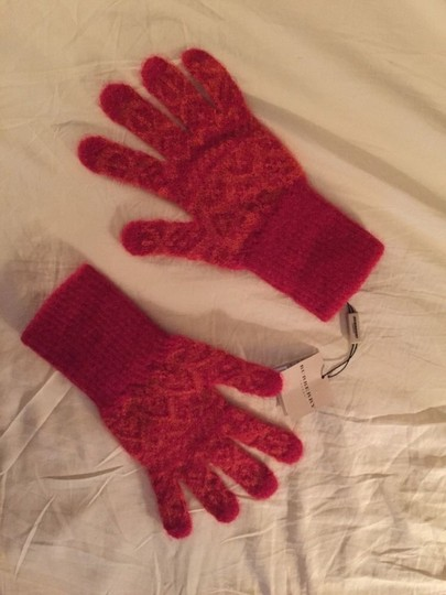 Burberry new with tags BURBERRY virgin wool GLOVES Image 2