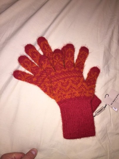 Burberry new with tags BURBERRY virgin wool GLOVES Image 5