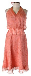 Laundry by Shelli Segal short dress Silk Lace Halter on Tradesy