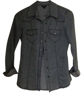 Guess Button Down Shirt Denim