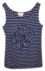 Kate Spade Top Blue and white stripes